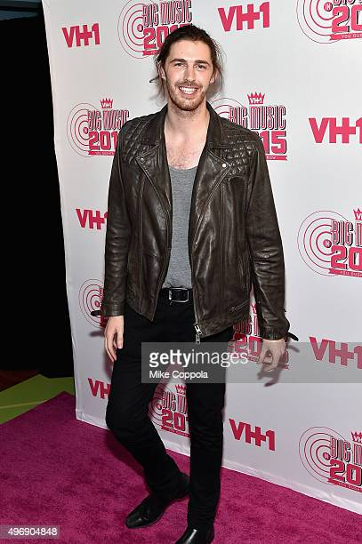 Singersongwriter Hozier attends the VH1 Big Music in 2015 You Oughta Know Concert at The Armory Foundation on November 12 2015 in New York City