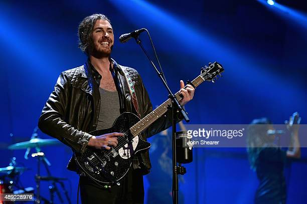 Singersongwriter Hozier performs onstage at the 2015 iHeartRadio Music Festival at MGM Grand Garden Arena on September 19 2015 in Las Vegas Nevada