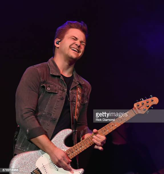 Singer/Songwriter Hunter Hayes performs during 2017 Christmas 4 Kids Concert at Ryman Auditorium on November 20 2017 in Nashville Tennessee