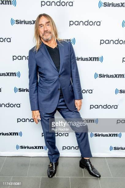 Singer/songwriter Iggy Pop visits SiriusXM Studios on September 12, 2019 in New York City.