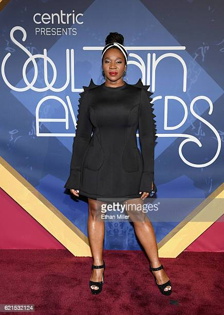 Singer/songwriter IndiaArie attends the 2016 Soul Train Music Awards at the Orleans Arena on November 6 2016 in Las Vegas Nevada