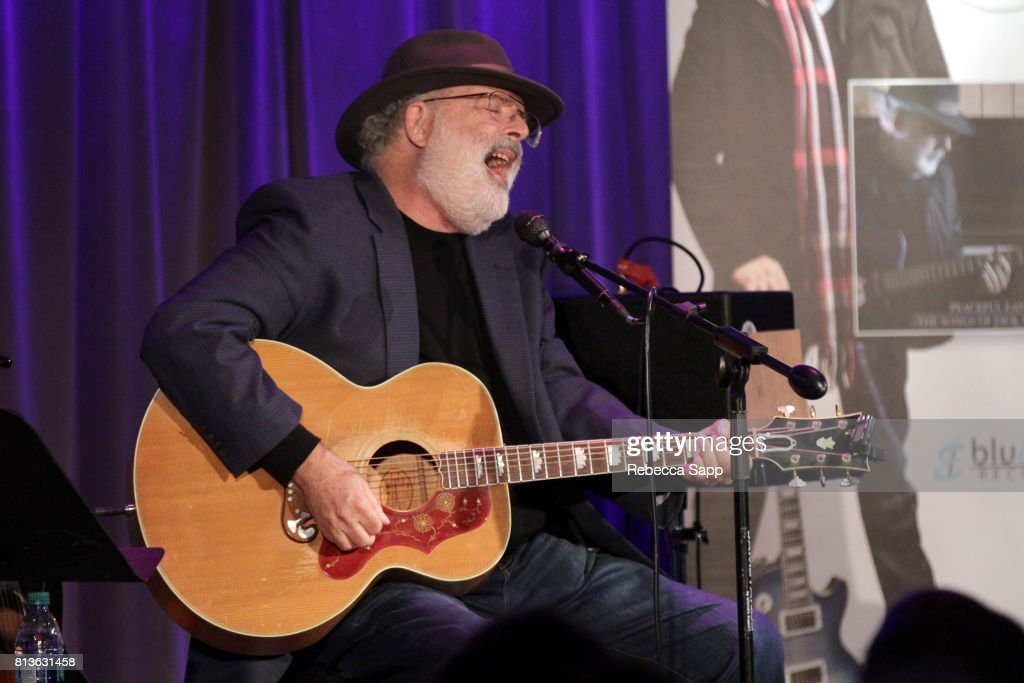 Singer/songwriter Jack Tempchin performs at Peaceful Easy Feeling: An Evening With Jack Tempchin at The GRAMMY Museum on July 12, 2017 in Los Angeles, California.