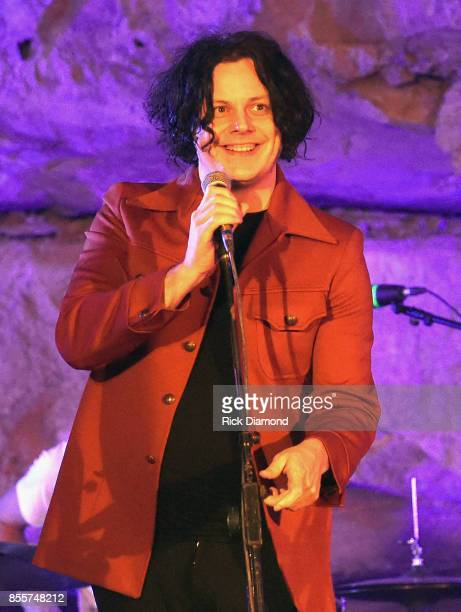 Singer/Songwriter Jack White Hosts Tennessee Tourism Third Man Records 333 Feet Underground at Cumberland Caverns on September 29 2017 in McMinnville...
