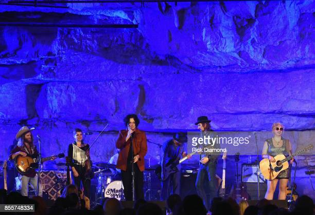 Singer/Songwriter Jack White introduces Singer/Songwriter Lillie Mae Tennessee Tourism Third Man Records 333 Feet Underground at Cumberland Caverns...