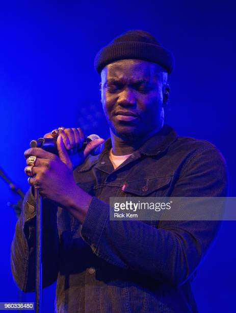 Singersongwriter Jacob Banks performs in concert at Stubb's BarBQ on May 19 2018 in Austin Texas