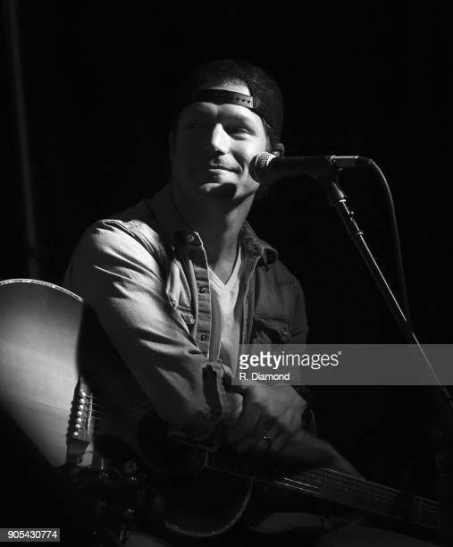 Singer/Songwriter Jacob Davis performs during the ASCAP Showcase at The Lakehouse during the 9th Annual 30A Songwriters Festival day 3 on January 14...