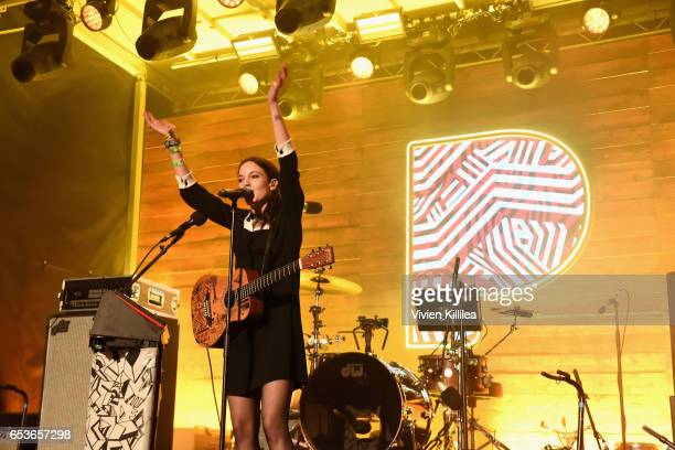 Singersongwriter Jain performs onstage during Pandora at SXSW 2017 on March 15 2017 in Austin Texas