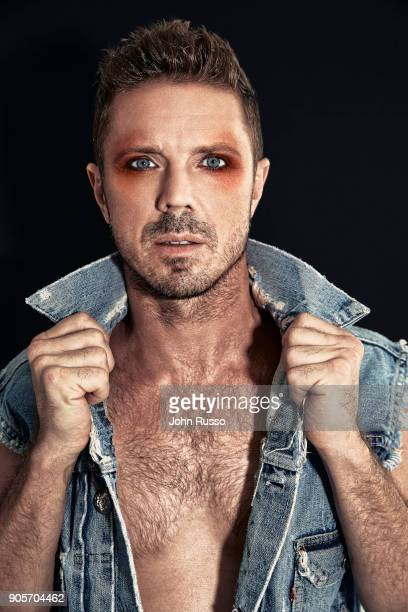 Singer/songwriter Jake Shears is photographed for Attitude Magazine on October 2 2017 in Los Angeles California