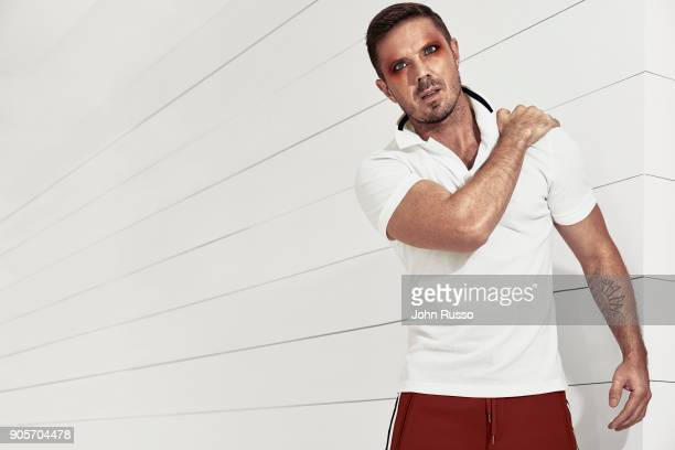 Singer/songwriter Jake Shears is photographed for Attitude Magazine on October 2 2017 in Los Angeles California PUBLISHED IMAGE