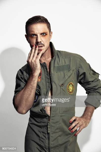 Singer/songwriter Jake Shears is photographed for Attitude Magazine on October 2 2017 in Los Angeles California COVER IMAGE