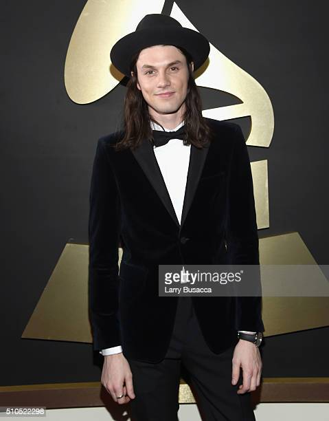 Singersongwriter James Bay attends The 58th GRAMMY Awards at Staples Center on February 15 2016 in Los Angeles California