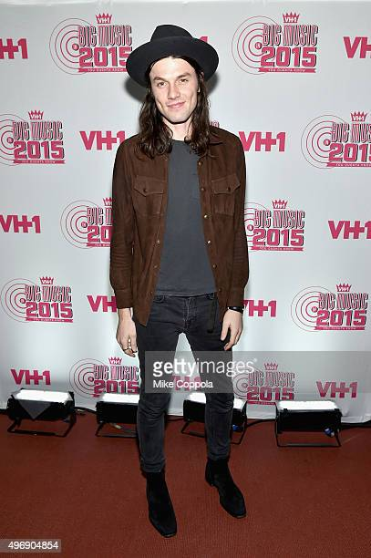 Singersongwriter James Bay attends the VH1 Big Music in 2015 You Oughta Know Concert at The Armory Foundation on November 12 2015 in New York City