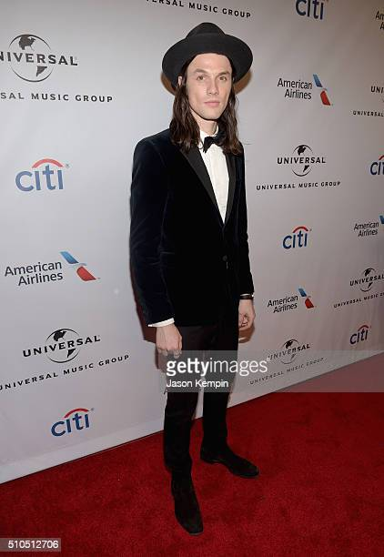 Singersongwriter James Bay attends Universal Music Group 2016 Grammy After Party presented by American Airlines and Citi at The Theatre at Ace Hotel...