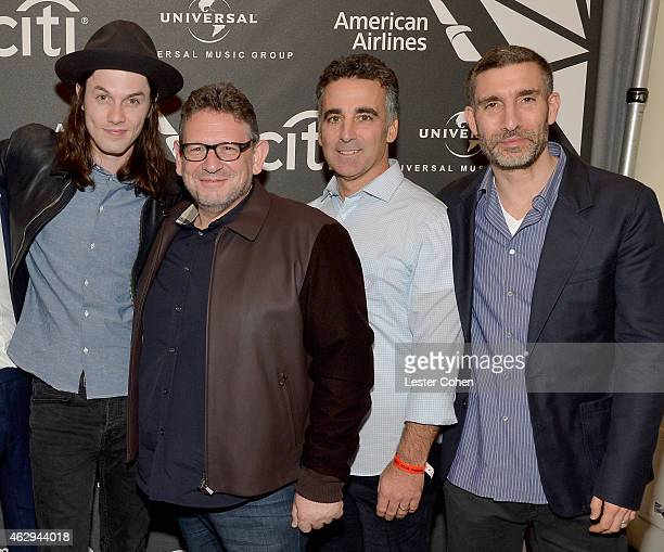 singersongwriter James Bay Chairman CEO of UMG Worldwide Lucian Grainge Founder and President COO of Republic Records Avery Lipman and Chairman and...