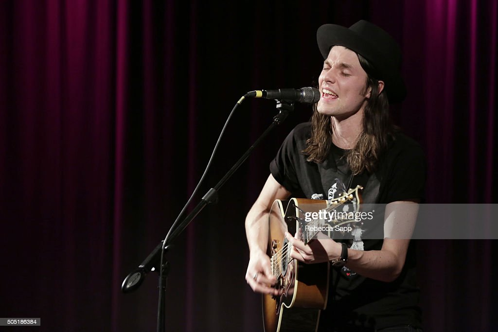 Singer/songwriter James Bay performs at Spotlight: James Bay at The GRAMMY Museum on January 15, 2016 in Los Angeles, California.