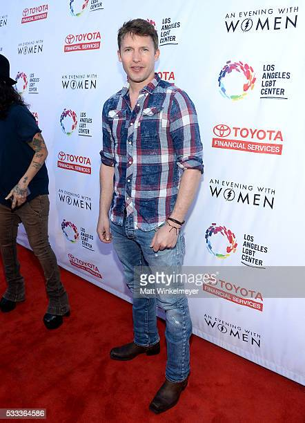 singersongwriter James Blunt attends An Evening with Women benefiting the Los Angeles LGBT Center at the Hollywood Palladium on May 21 2016 in Los...