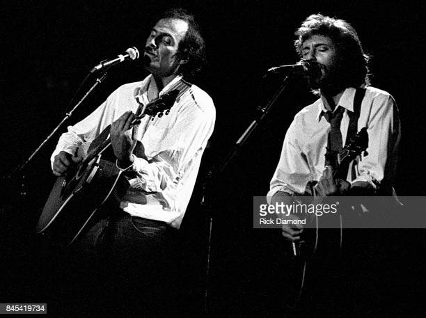 Singer/Songwriter James Taylor and JD Souther perform at The Atlanta Civic Center in Atlanta Georgia May 13 1981