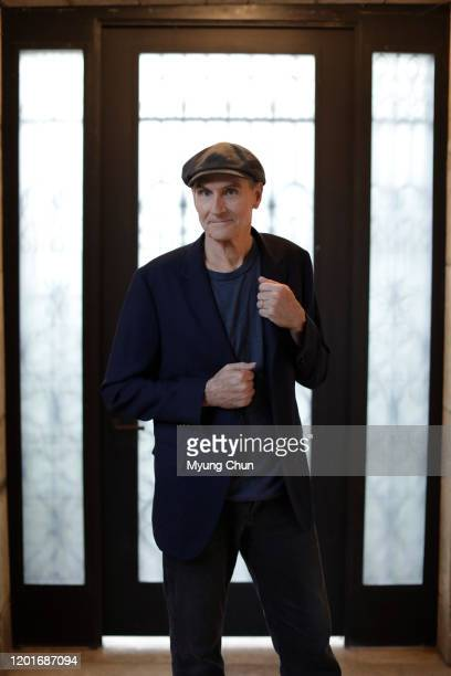 Singer/songwriter James Taylor is photographed for Los Angeles Times on January 24 2020 in Bel Air California PUBLISHED IMAGE CREDIT MUST READ Myung...