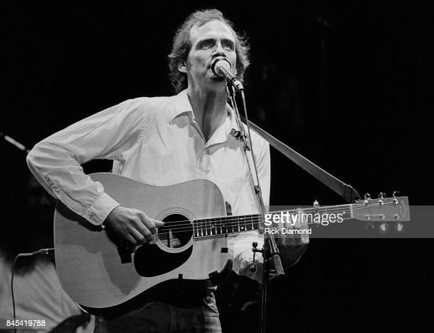 Singer/Songwriter James Taylor performs at The Atlanta Civic Center in Atlanta Georgia May 13, 1981
