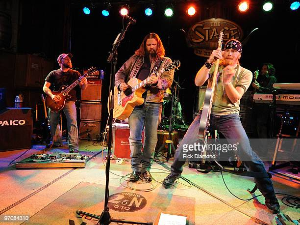 COVERAGE*** Singer/Songwriter Jamey Johnson and his Band perform in a secret show during the 2010 Country Radio Seminar at The Stage on February 25...