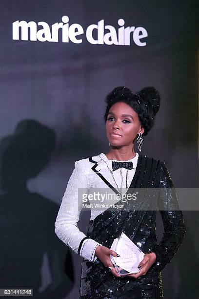 Singersongwriter Janelle Monae attends Marie Claire's Image Maker Awards 2017 at Catch LA on January 10 2017 in West Hollywood California