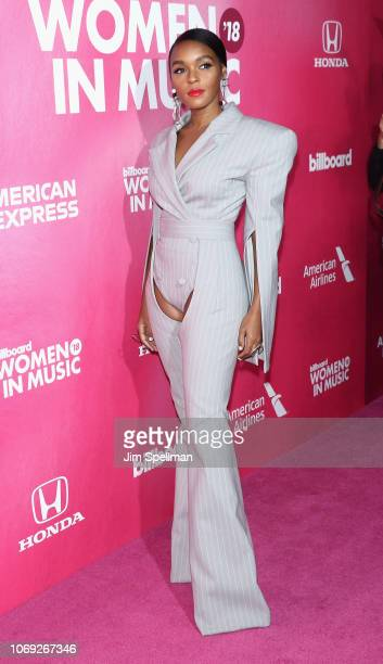 Singer/songwriter Janelle Monae attends the Billboard's 13th Annual Women in Music event at Pier 36 on December 6 2018 in New York City