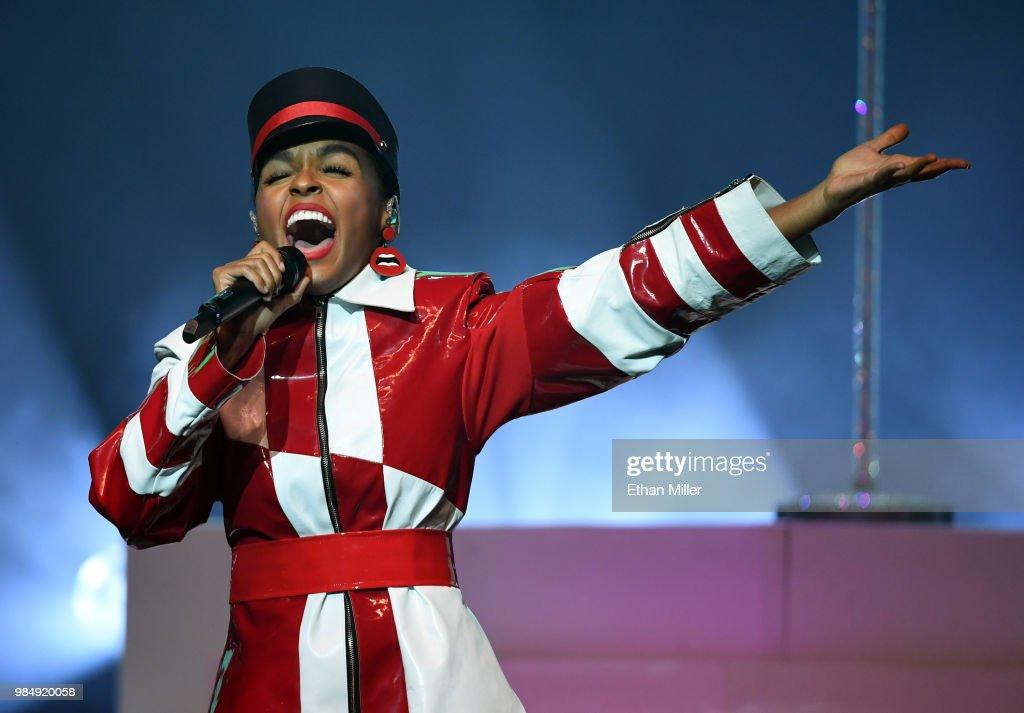 Janelle Monae In Concert At Palms Casino Resort In Las Vegas : News Photo