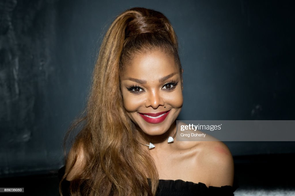 Singer-songwriter Janet Jackson attends her Janet Jackson's State Of The World Tour After Party at Lure on October 8, 2017 in Los Angeles, California.