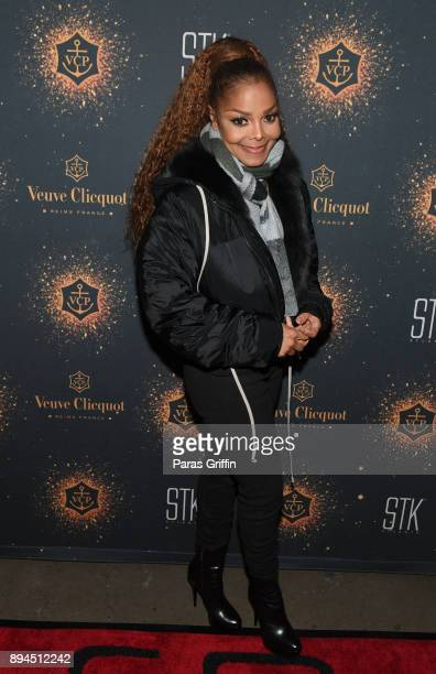 Singersongwriter Janet Jackson attends her 'State Of The World Tour' After Party at STK Atlanta on December 17 2017 in Atlanta Georgia