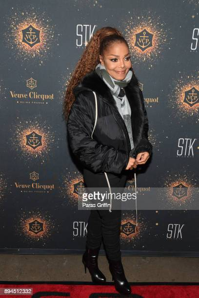 Singersongwriter Janet Jackson attends her State Of The World Tour After Party at STK Atlanta on December 17 2017 in Atlanta Georgia