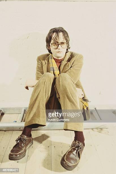 Singersongwriter Jarvis Cocker of British pop group Pulp 1997