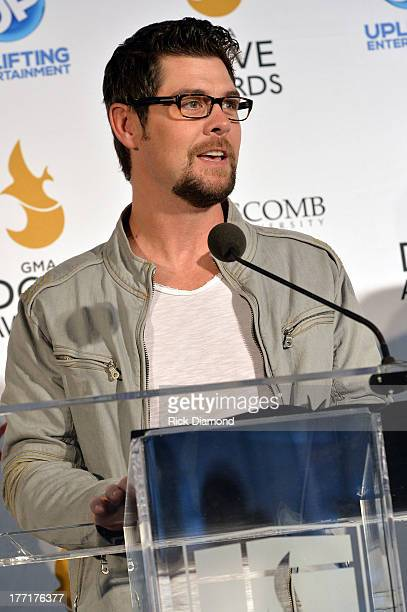 Singer/Songwriter Jason Crabb announces nominations for The 44th Annual GMA Dove Awards Nominations Press Conference at Allen Arena, Lipscomb...