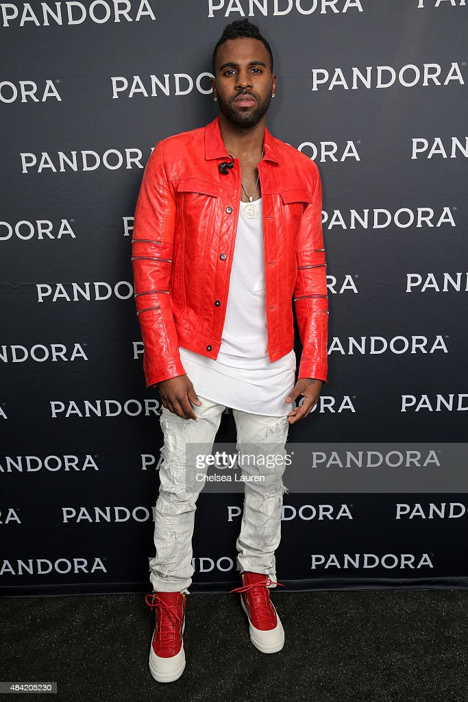 Singer/songwriter Jason Derulo attends PANDORA SUMMER CRUSH 2015 at L.A. LIVE on August 15, 2015 in Los Angeles, California.