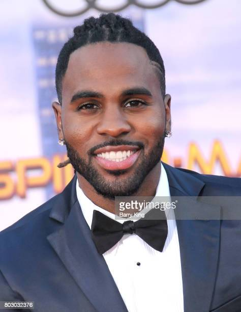 Singer/songwriter Jason Derulo attends the World Premiere of Columbia Pictures' 'SpiderMan Homecoming' at TCL Chinese Theatre on June 28 2017 in...
