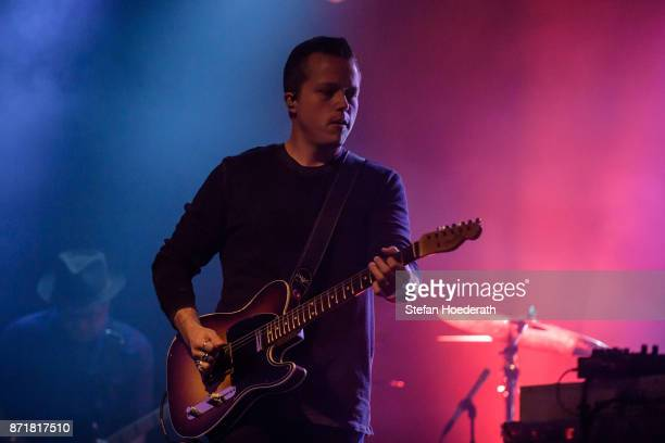 Singersongwriter Jason Isbell performs live on stage during a concert at Columbia Theater on November 8 2017 in Berlin Germany