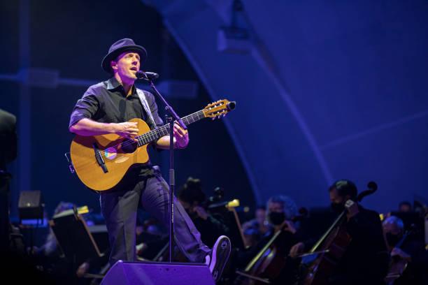 CA: Jason Mraz Performs In San Diego