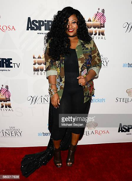 Singer/songwriter Jazmine Sullivan attends Autry Museum of the American West on July 22 2016 in Los Angeles California