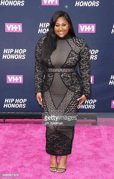 Singer/songwriter Jazmine Sullivan attends the 2016 VH1 Hip Hop Honors All Hail The Queens at David Geffen Hall on July 11 2016 in New York City