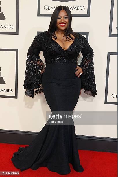 Singersongwriter Jazmine Sullivan attends The 58th GRAMMY Awards at Staples Center on February 15 2016 in Los Angeles California