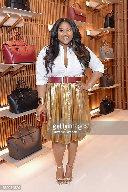 Singersongwriter Jazmine Sullivan attends the Bally Beverly Hills flagship store opening in support of Delete Blood Cancer DKMS on May 17 2016 in...