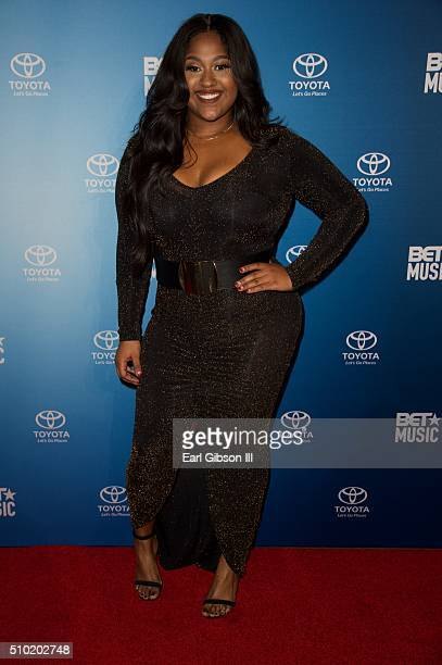 Singer/Songwriter Jazmine Sullivan attends the BET Music Matters Grammy Showcase at W Hollywood on February 13 2016 in Hollywood California