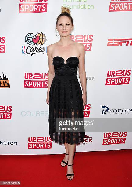 Singer/songwriter Jennifer Nettles attends the 2016 Up2Us Sports Gala at Three Sixty on June 15 2016 in New York City