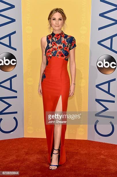 Singersongwriter Jennifer Nettles attends the 50th annual CMA Awards at the Bridgestone Arena on November 2 2016 in Nashville Tennessee