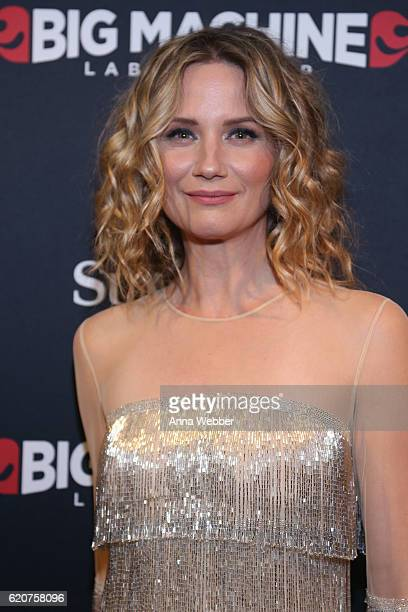 Singersongwriter Jennifer Nettles attends the Big Machine Label Group's celebration of the 50th Annual CMA Awards at Marathon Music Works on November...