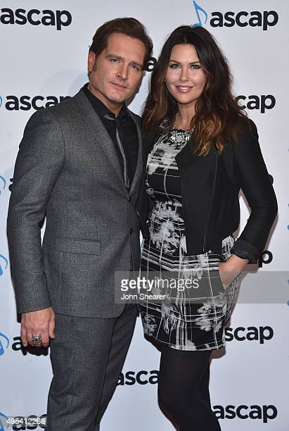 Singersongwriter Jerrod Niemann and Morgan Petek attend the 53rd annual ASCAP Country Music awards at the Omni Hotel on November 2 2015 in Nashville...
