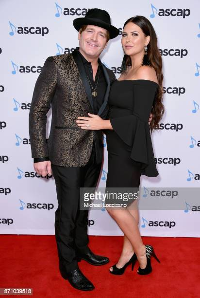 Singersongwriter Jerrod Niemann and Morgan Petek attend the 55th annual ASCAP Country Music awards at the Ryman Auditorium on November 6 2017 in...