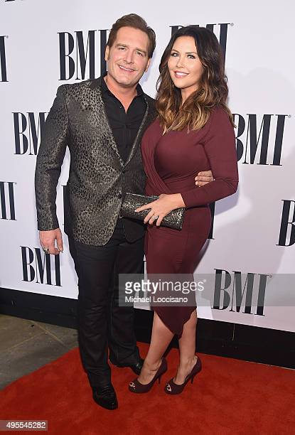 Singersongwriter Jerrod Niemann and Morgan Petek attend the 63rd Annual BMI Country awards on November 3 2015 in Nashville Tennessee