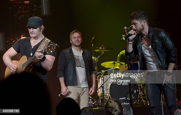 Singer/Songwriter Jerrod Niemann is joined by Singer/Songwriters Logan Mize and Chris Lane during Jerrod's first headline show at The Historic Ryman...