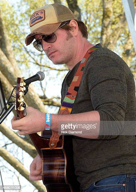 Singer/Songwriter Jerrod Niemann performs during the 3rd Annual Craig Campbell Celebrity Cornhole Challenge to Fight Colorectal Cancer at Centennial...