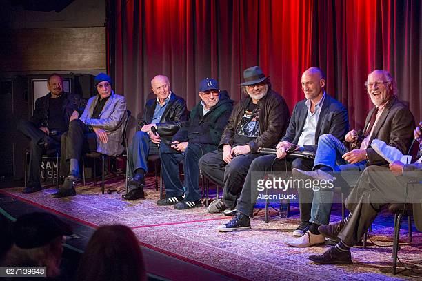 Singer/songwriter Jerry Goldstein music artist Jeff Barry songwriter Mike Stoller editor/producer Bob Sarles music producer Brooks Arthur Brett Berns...